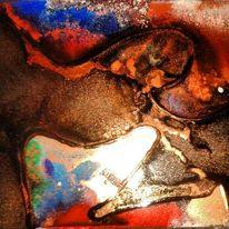 Fantasie, Acrylmalerei, Abstrakt, Bunt