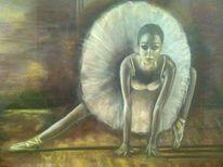Balett, Tanz, Pastellmalerei, Bühne
