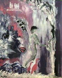 Erinnerung, Malerei, Familie, Leben