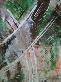 Acrylmalerei, Natur, Abstrakt, Malerei