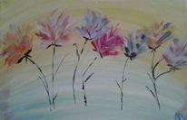 Blumen, Geschenk, Bunt, Abstrakt