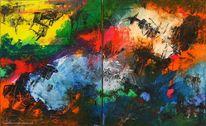 Ölmalerei, Mischtechnik, Modern, Acrylmalerei