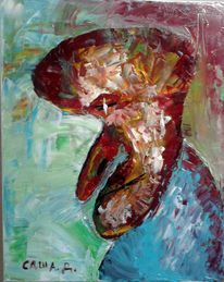 Malerei, 2013, Mann, Alter