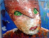 Amazunas, Malerei, Frau