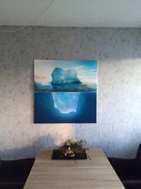 Malerei, Eisberg