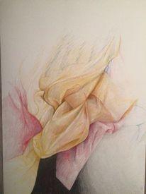 Farben, Stillleben, Zeichnung, Buntstifte