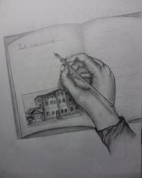 Hand, Zeichnungen