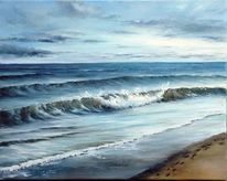 Wasser, Himmel, Strand, Meerlandschaft