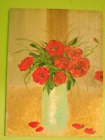 Malerei, Mohnblumen