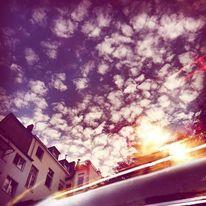 Köln, Wolken, Licht, Sonne
