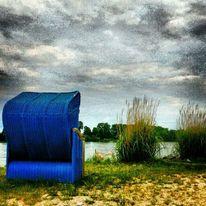 Rhein, Wasser, Wolken, Köln