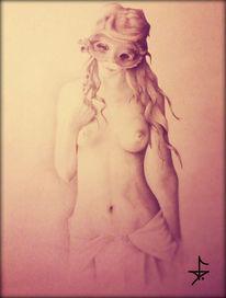 Einsamkeit, Hübsch, Liebe, Portrait