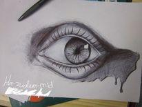 Zeichnung, Augen, Zeichnen, Kugelschreiber