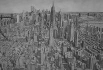 Amerika, New york, Zeichnung, Vereinigte staten