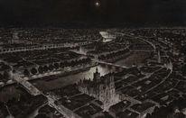 Realismus, Tusche, Frankreich, Lyon