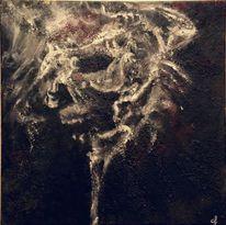 Morbide, Dunkel, Rauch, Malerei