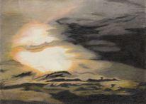 Wolken, Himmel, Sonne, Stimmung