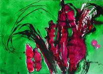 Simultan oder komplementär, Rotgrüne gruppe, Mischtechnik