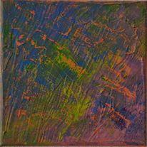 Aabstrakte kunst, Gemälde, Acrylmalerei, Farbenmix