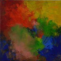 Abstrakt, Acrylmalerei, Abstrakte kunst, Gemälde