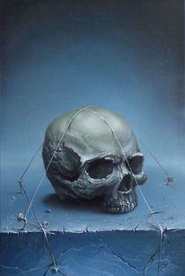 Schädel, Kopf, Menschen, Tod