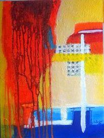Herz, Blut, Malerei