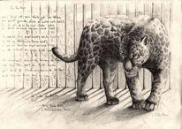 Gefangenschaft, Zeichnung, Bewegung, Studie