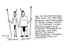 Indianer, Zwillinge, Fast food, Zeichnungen