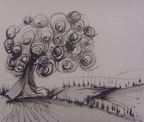 Zeichnungen, Baum