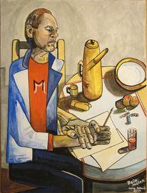 Malen, Gouachemalerei, Malerei, 2014