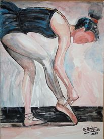 Malerei, 2015, Ballerina