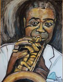 Jazz, Malerei, 2015