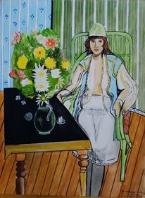 Matisse, Modern, Malen, Malerei