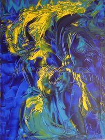 Emotion, Blau, Malerei