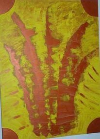 Schöpfung, Krone, Malerei