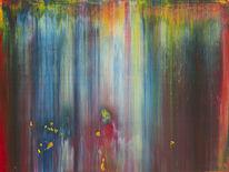 Abstrakt, Gerhardrichter, Gemälde, Richter