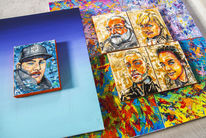 Portraitserie/Der Millionen Maler