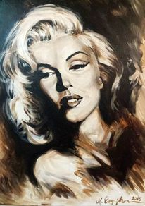 Sephia, Monroe, Malerei,
