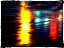 Spiegelung, Regen, Licht, Fotografie