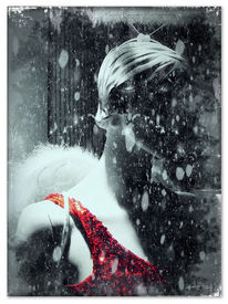 Weihnachten, Schaufensterpuppe, Digitale kunst, Bildbearbeitung