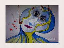 Aquarellmalerei, Malerei, Kaputt