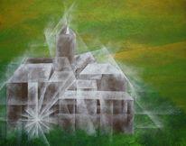 Malerei, Burg