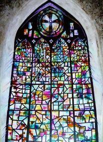 Farben, Relegiös, Gott, Mosaik