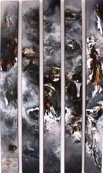 Malerei, 2014, Fundstücke