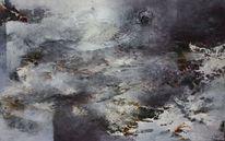 Malerei, 2014, Gehen
