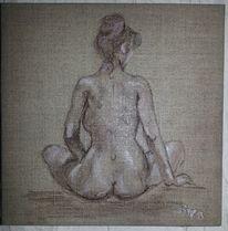 Malerei, Akt, Weiblich,