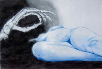 Schlaf, Zeichnungen, Memento mori