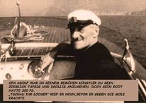 Opa, Adolf, Experimentell, Motorboot