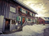 Winter, Allgäuer, Bauernhof, Fotografie