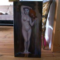 Frau, Portrait, Ölmalerei, Alte meister